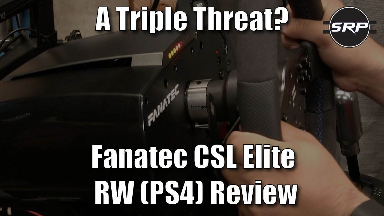 a triple threat reviewing the fanatec csl elite racing. Black Bedroom Furniture Sets. Home Design Ideas