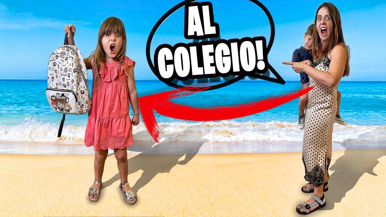 AL COLEGIO EN VACACIONES - BROMA A DANIELA