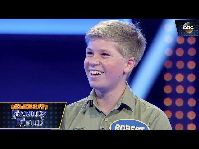 Irwin Family Take On Fast Money - Celebrity Family Feud 3x1