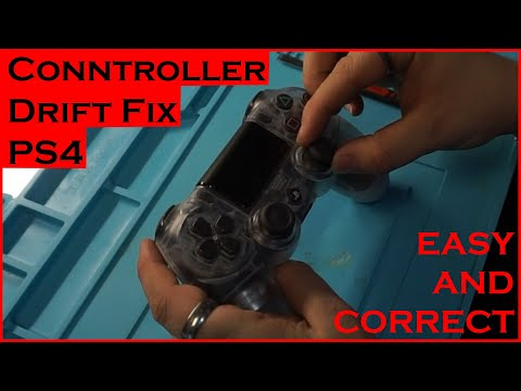 How to FIX ANALOG DRIFT in PS4 Controller! Correct Method 100% Works!