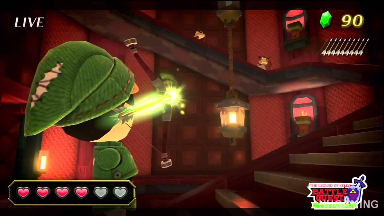 Nintendo Land walkthrough - part 3 Zelda Wii u Minigame #2 ...