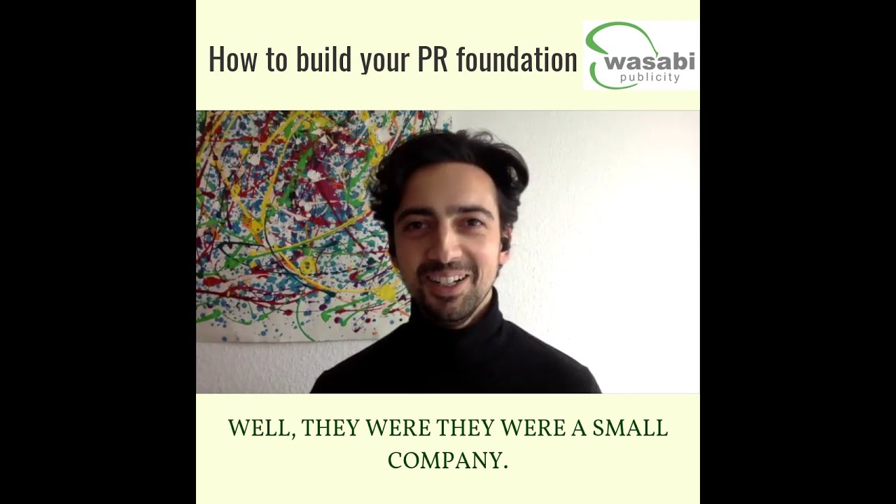 Build your PR foundation