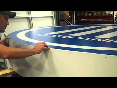 How an Internally Illuminated Flex Face Sign is Made   TKO Signs