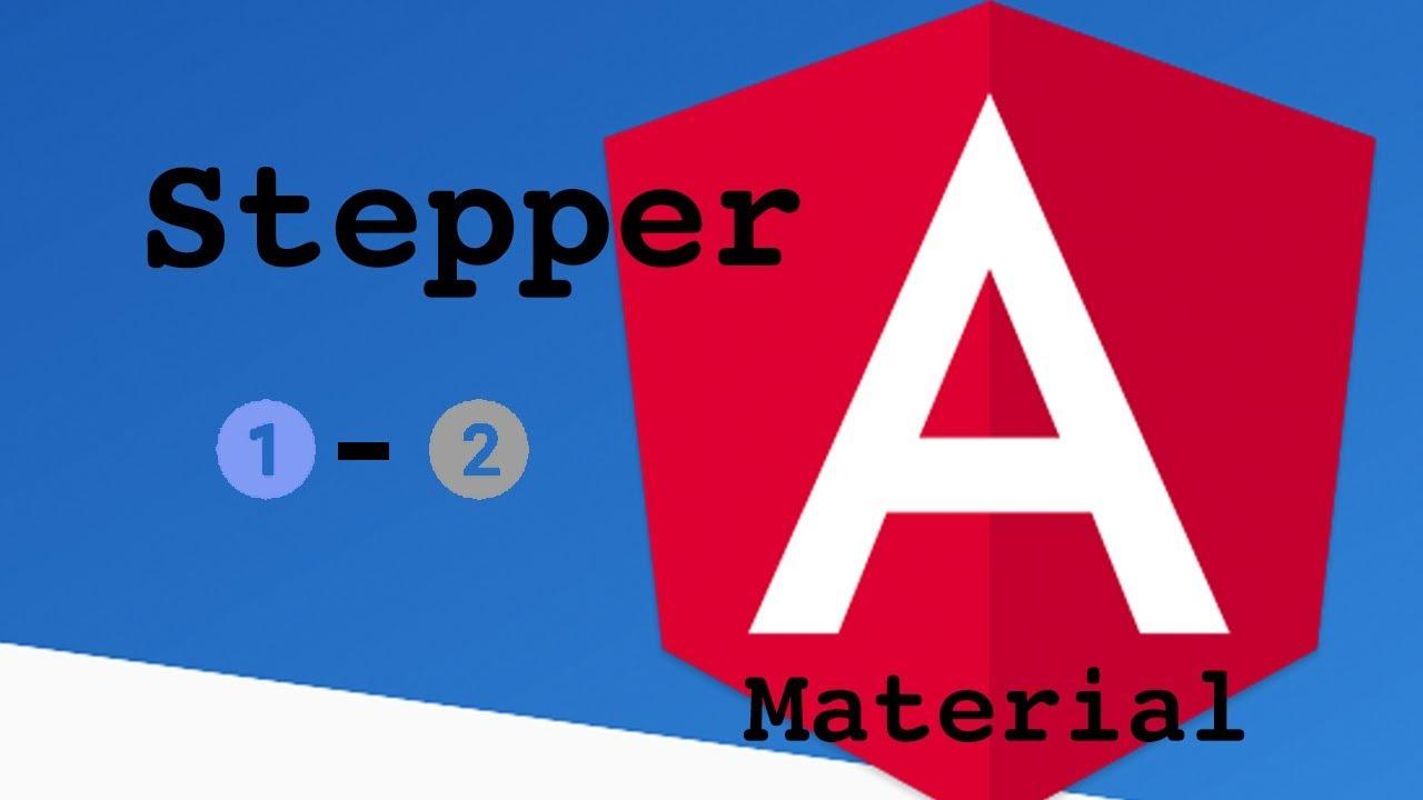 Angular Material Stepper
