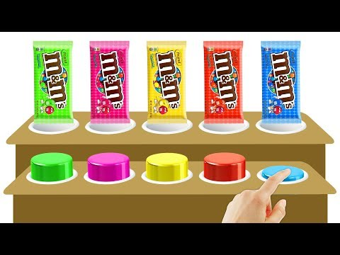 Thumbnail: Wooden Toys - m&m Chocolate Colors Learn | Finger Family Song