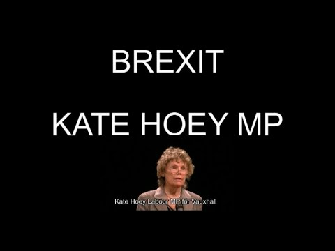 BREXIT Kate Hoey Labour MP says OUT of EU  2- 4