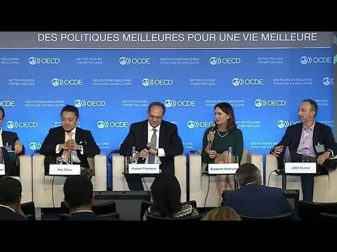 🔵LIVE🔵 Ripple Talking With Western Union, Vanguard At The OECD Event.