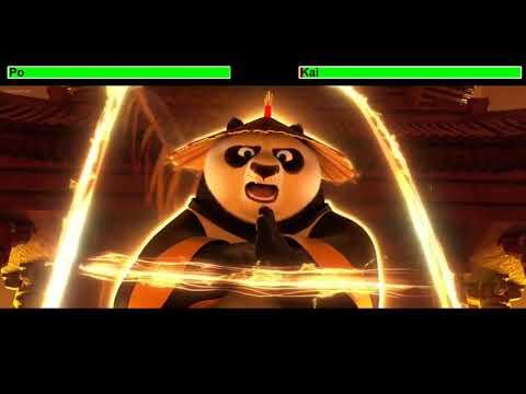 Kung Fu Panda 3 Final Battle With Healthbars 2/2