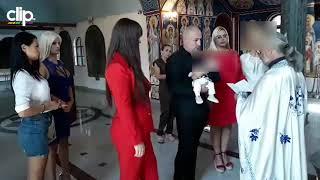SUZE U CRKVI Miljana Kulić krsti sina Željka, a iznenadili je BIVŠI ZADRUGARI