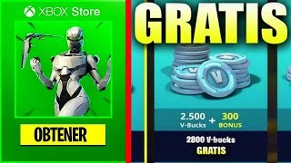 Confirmed!! EXCLUSIVE PACK FOR XBOX + SKIN EON [FORTNITE BATTLE ROYALE]