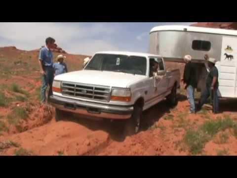 Monument-Valley Trailride - mit Missouri Fox Trotters