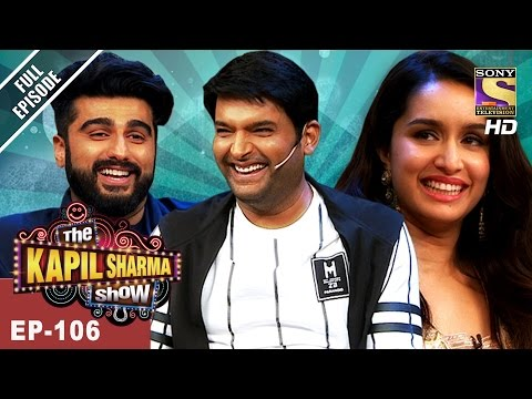 The Kapil Sharma Show - दी कपिल शर्मा शो -Ep-106- Arjun & Shraddha In Kapil's Show - 14th May, 2017