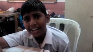 Murid India ajar Cikgu bahasa India