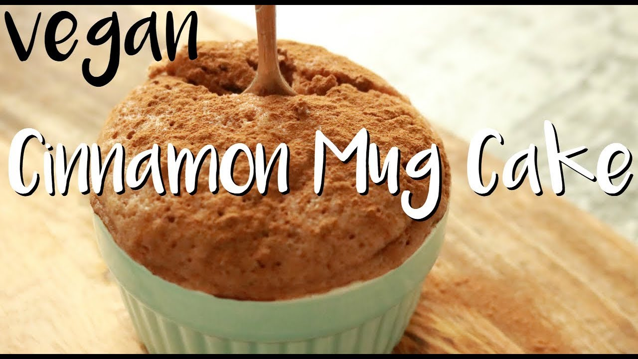 Easy Vegan Mug Cake Recipe - ONLY 2 MIN NEEDED (Microwave ...