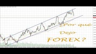¿Por qué dejo de operar FOREX (Mercado de Divisas)?