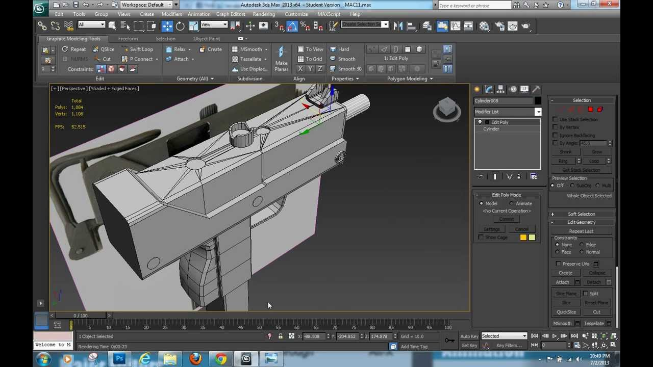 3ds Max Tutorial Mac 11 Update Box Modeling Youtube