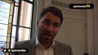 Eddie Hearn Talks All Things Anthony Joshua