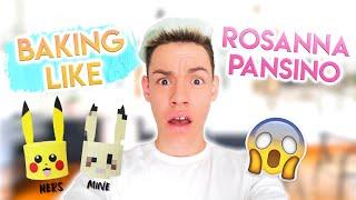 I Tried Baking Like Rosanna Pansino *TOTAL FAIL*