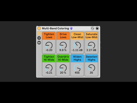 Multi-band Coloring - Secret weapon revealed (Free Download)