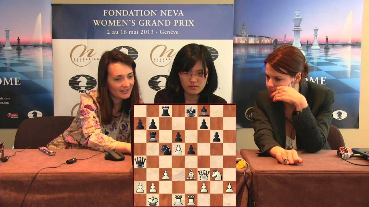 Press Conference Round 7: Kateryna Lagno (UKR) - Yifan Hou ...