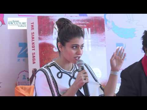 Kajol launches Ashwin Sanghi's 'The Sialkot Saga' at Jaipur wmTAK