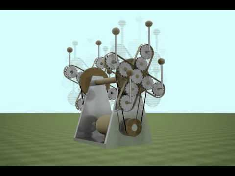 anti gravity machine designed by Aiman Al-Nakawah.mpg