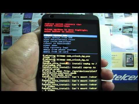 HTC Desire 626s HARD RESET