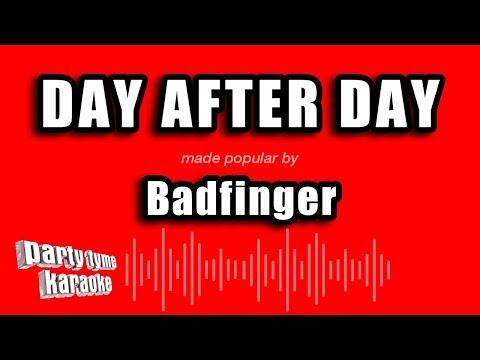Badfinger - Day After Day (Karaoke Version)