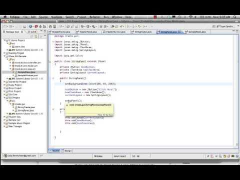 Eclipse Gui Windows Builder Plugin