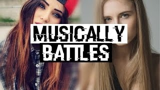 POLINA VS BUSCERA  MUSICALLY BATTLES