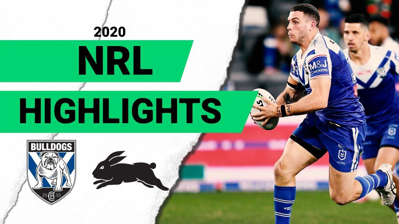 Bulldogs v Rabbitohs Match Highlights | Round 8 2020 | Telstra Premiership | NRL