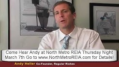 Learn how Andy Heller developed his offer strategy of  buying REOs directly from Banks!