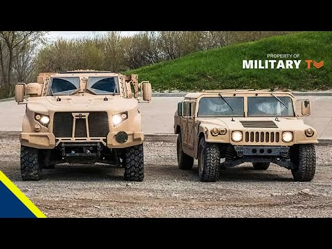 How the Humvee Compares to the New Oshkosh JLTV ( Joint Light Tactical Vehicle )
