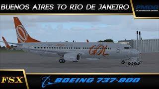 FSX Live: Buenos Aires to Rio de Janeiro