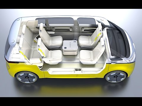 Vw I D Buzz Interior Review 2018 Vw Campervan Interior 2018 Electric Vw Id Review New Carjam