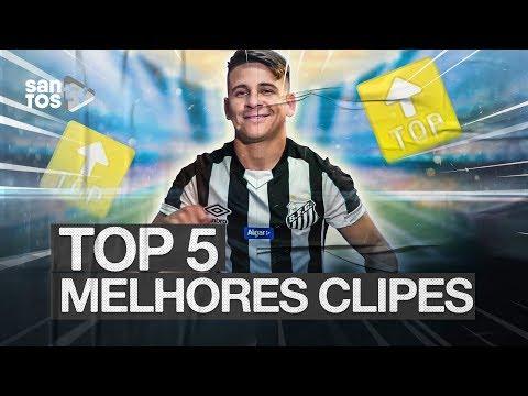 TOP 5 | MELHORES CLIPES DO SANTOS EM 2019