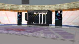 3D concierto Elton John Estadio Nacional , Lima