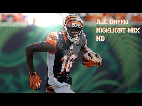 A.J. Green    2016-17 Highlight Mix   