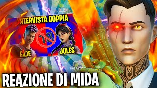 MIDA REAGISCE ALL' INTERVISTA DI JULES E FADE * DIVERTENTE * - Fortnite