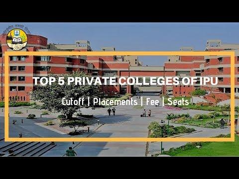 Top 5 IPU Private College Cutoff | Placement | Fee | Seat Matrix