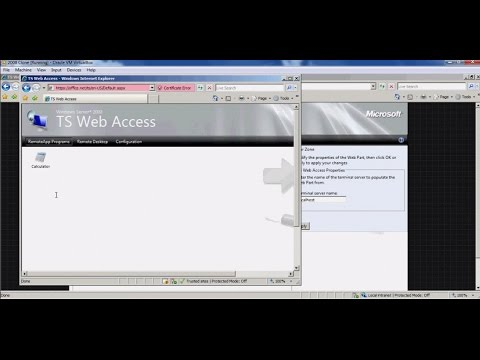 Server 2008 - Sharing Installed APPS On Windows 2008 With Client Systems Using Terminal Services