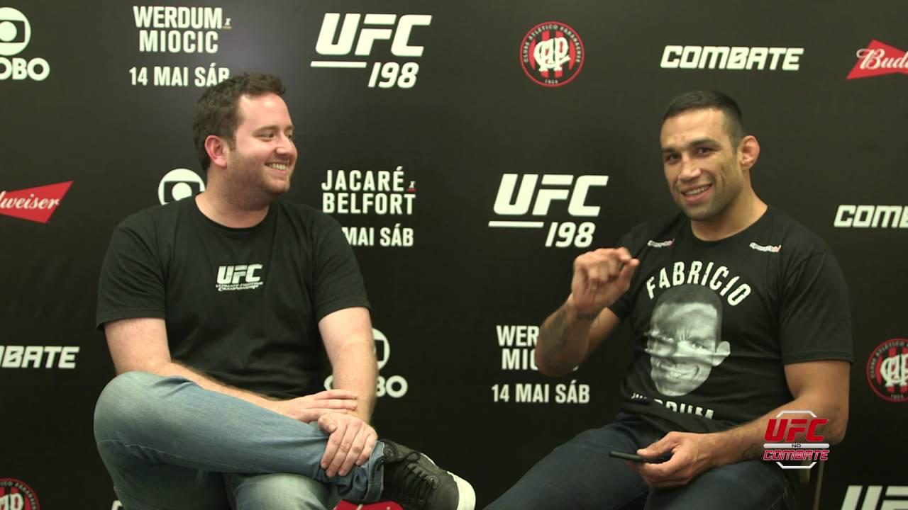 Werdum fala de homenagem que fará no UFC 198