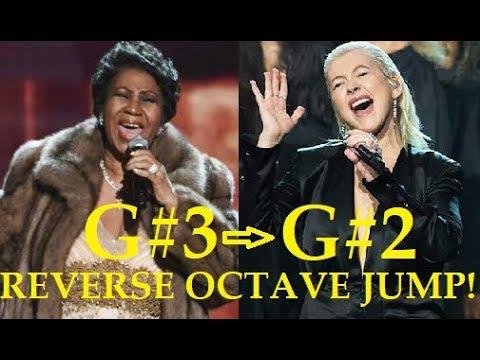 REVERSE OCTAVE JUMPS - Female Singers