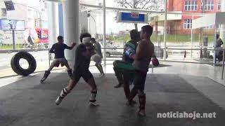 Renato Pezinho disputa cinturão no K O Kombate 5 em Videira