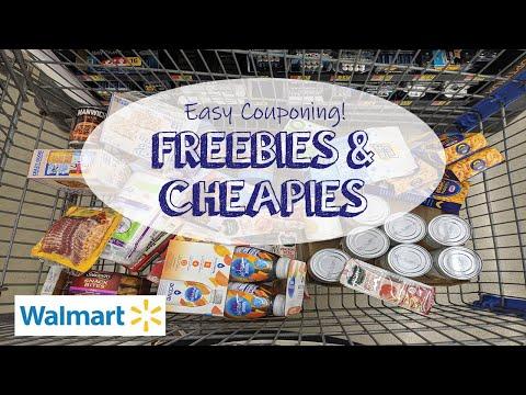 EASY COUPONING – Best Walmart FREEBIES + Deals 8/9 – 8/15 (Lots of Food!)