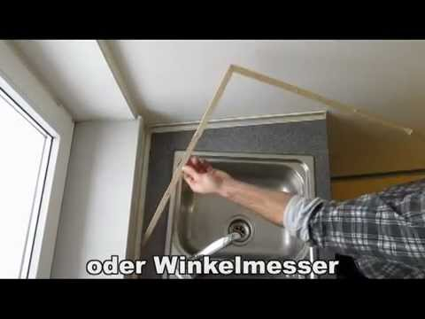 Schmiege Arbeitsplatte.MP4 - YouTube | {Wandabschlussleiste arbeitsplatte 18}