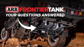 ARB Frontier long range fuel tanks | Your questions answered