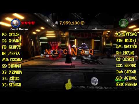 LEGO Star Wars 3: Cheat! Trophy/Achievement (All Red Brick Codes) - HTG