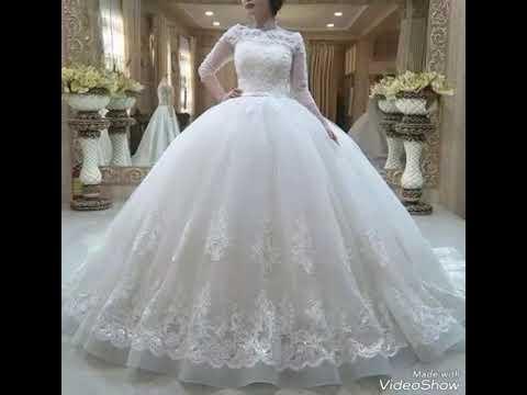 10700ed10 أفخم اقوى موديلات فساتين زفاف لعام 2019 ،اجمل فساتين اعراس 2019 فساتين زفاف  ملكية و اكثرها أناقة