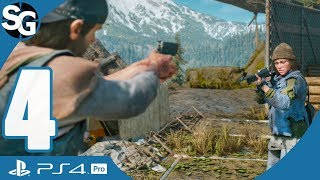 Days Gone Walkthrough Gameplay (No Commentary) | No Starving Patriots - Part 4